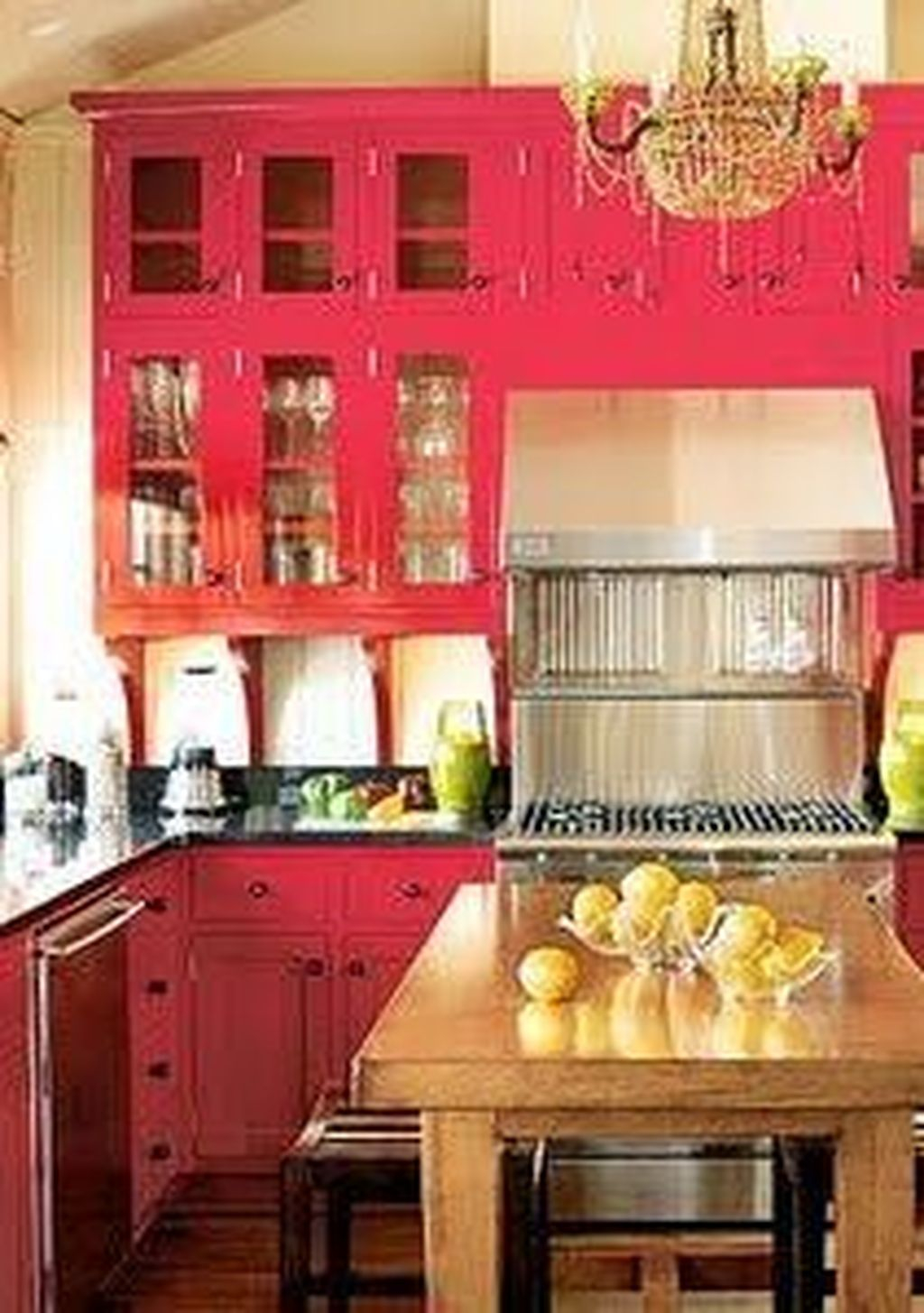 Adorable Rainbow Colorful Kitchens Design Ideas To Looks More Awesome 12