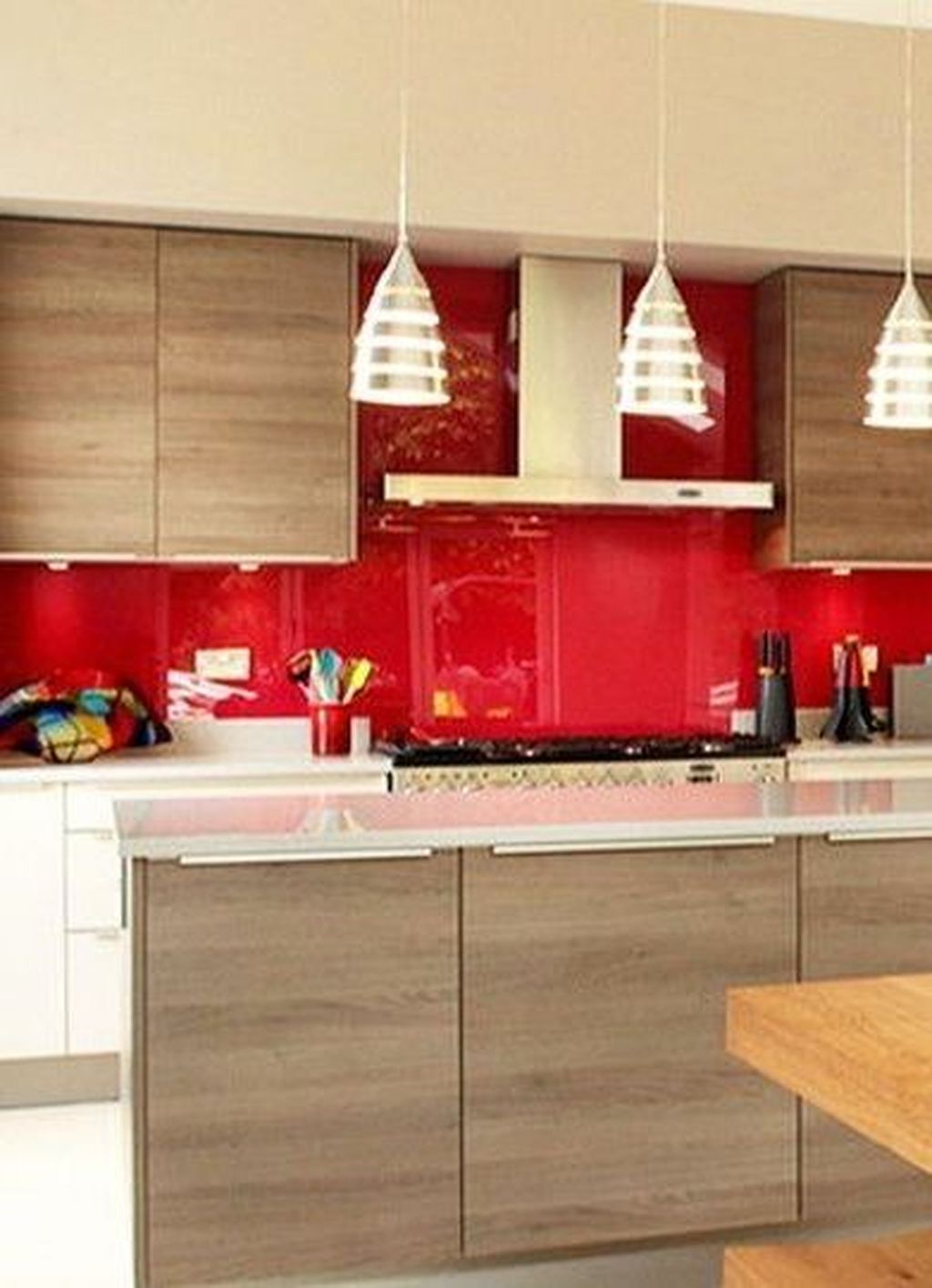 Adorable Rainbow Colorful Kitchens Design Ideas To Looks More Awesome 36