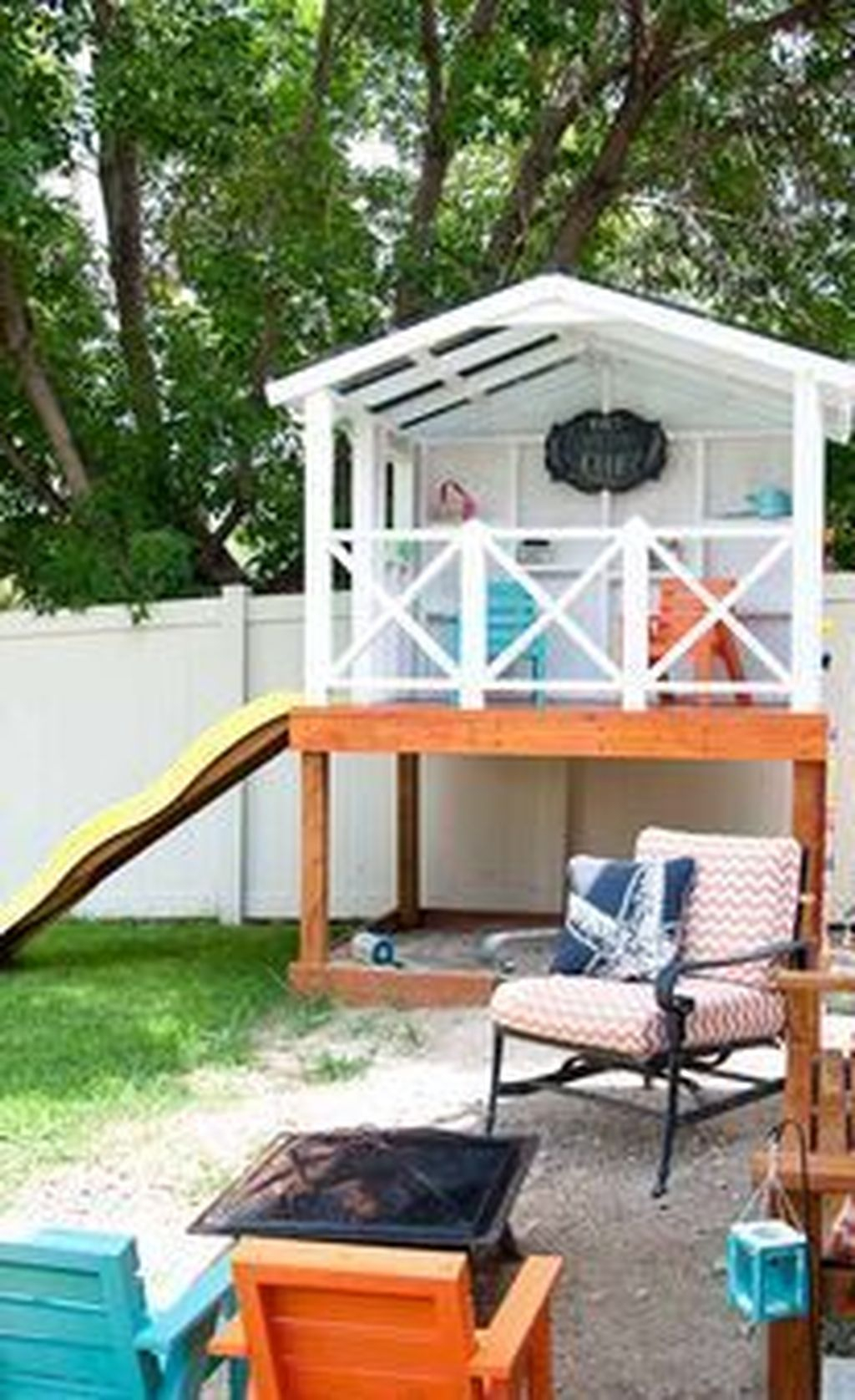 Attractive Outdoor Kids Playhouses Design Ideas To Try Right Now 14