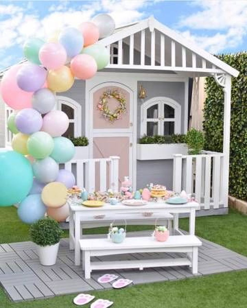 Attractive Outdoor Kids Playhouses Design Ideas To Try Right Now 16