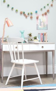 Captivating Girl Workspace Design Ideas That Looks So Cute 23
