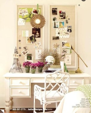 Captivating Girl Workspace Design Ideas That Looks So Cute 43