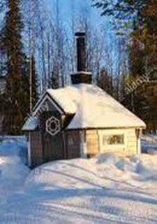 Cool Bathhouse Winter Camp Design Ideas With Rural Accents To Have Right Now 12