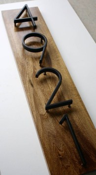 Cool Diy House Number Projects Design Ideas That Looks More Elegant 03