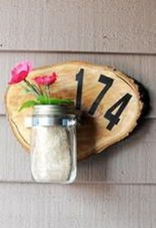 Cool Diy House Number Projects Design Ideas That Looks More Elegant 30