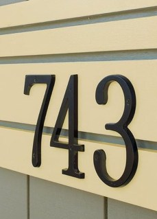 Cool Diy House Number Projects Design Ideas That Looks More Elegant 40