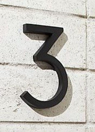 Cool Diy House Number Projects Design Ideas That Looks More Elegant 41