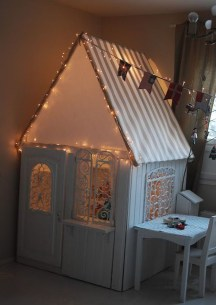 Cute Indoor Playhouses Design Ideas That Suitable For Kids 04