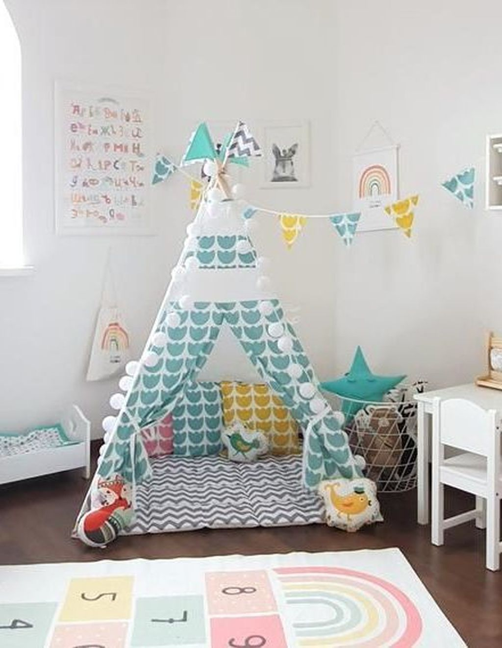 Cute Indoor Playhouses Design Ideas That Suitable For Kids 06