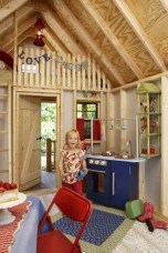 Cute Indoor Playhouses Design Ideas That Suitable For Kids 23