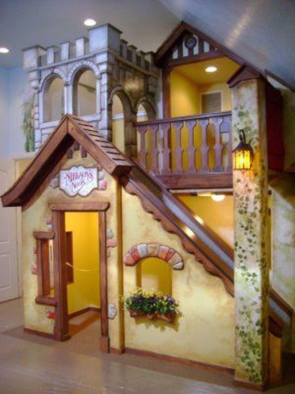 Favorite Kids Playhouses Design Ideas Under The Stairs To Have 01