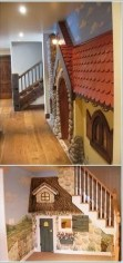 Favorite Kids Playhouses Design Ideas Under The Stairs To Have 09