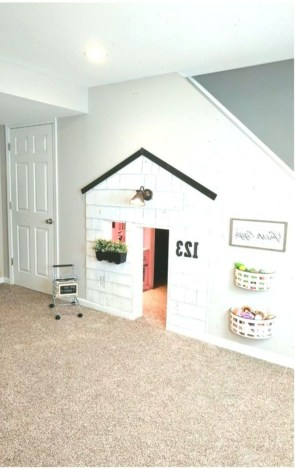 Favorite Kids Playhouses Design Ideas Under The Stairs To Have 16