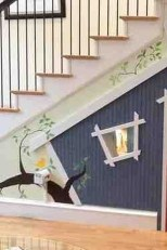Favorite Kids Playhouses Design Ideas Under The Stairs To Have 34
