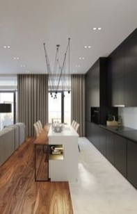 Modern Black Kitchens Design Ideas For Bachelors Pad To Try Asap 02