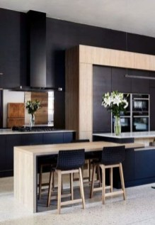 Modern Black Kitchens Design Ideas For Bachelors Pad To Try Asap 14