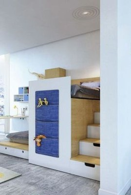 Perfect Kids Room Design Ideas That Suitable For Two Generations 35