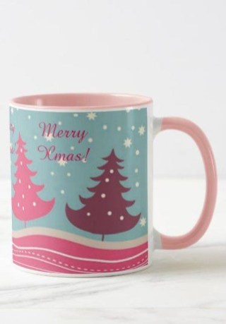 Sophisticated Pink Winter Tree Design Ideas That Looks So Cute 13
