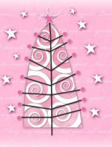 Sophisticated Pink Winter Tree Design Ideas That Looks So Cute 20