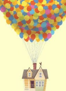Amazing Pixar Up House Design Ideas Created In Real Life And Flown 05