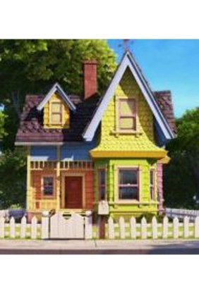 Amazing Pixar Up House Design Ideas Created In Real Life And Flown 07