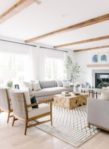 Attractive Living Room Design Ideas With Wood Floor To Try Asap 05