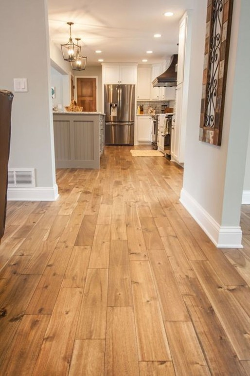 Attractive Living Room Design Ideas With Wood Floor To Try Asap 37