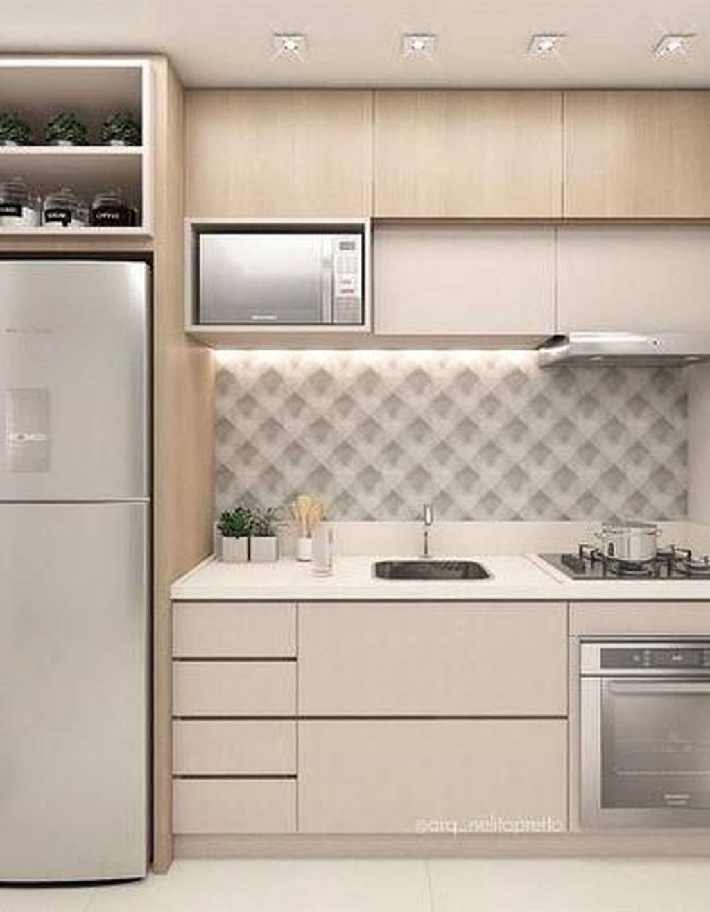 Best Tiny Kitchen Design Ideas For Your Small Space Inspiration 21