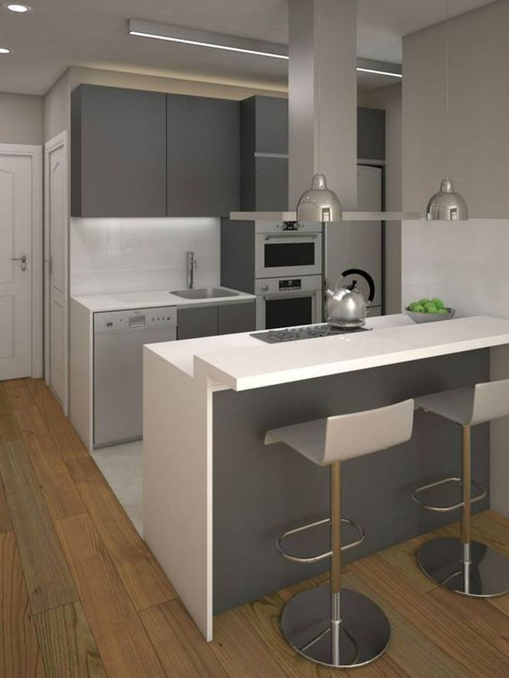 Best Tiny Kitchen Design Ideas For Your Small Space Inspiration 39
