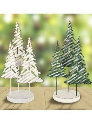 Delicate Tiny Winter Trees Design Ideas That You Should Try 37