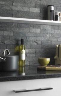 Extraordinary Black Backsplash Kitchen Design Ideas That You Should Try 19