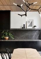 Extraordinary Black Backsplash Kitchen Design Ideas That You Should Try 23