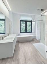 Fancy Wood Bathroom Floor Design Ideas That Will Enhance The Beautiful 03
