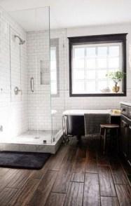 Fancy Wood Bathroom Floor Design Ideas That Will Enhance The Beautiful 05