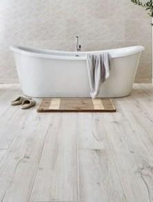 Fancy Wood Bathroom Floor Design Ideas That Will Enhance The Beautiful 06