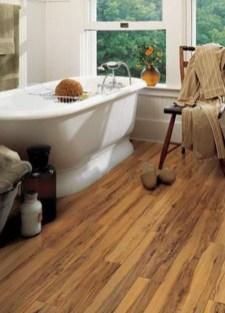 Fancy Wood Bathroom Floor Design Ideas That Will Enhance The Beautiful 19