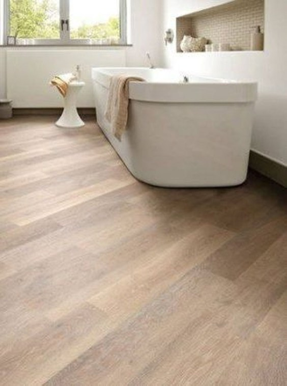 Fancy Wood Bathroom Floor Design Ideas That Will Enhance The Beautiful 36