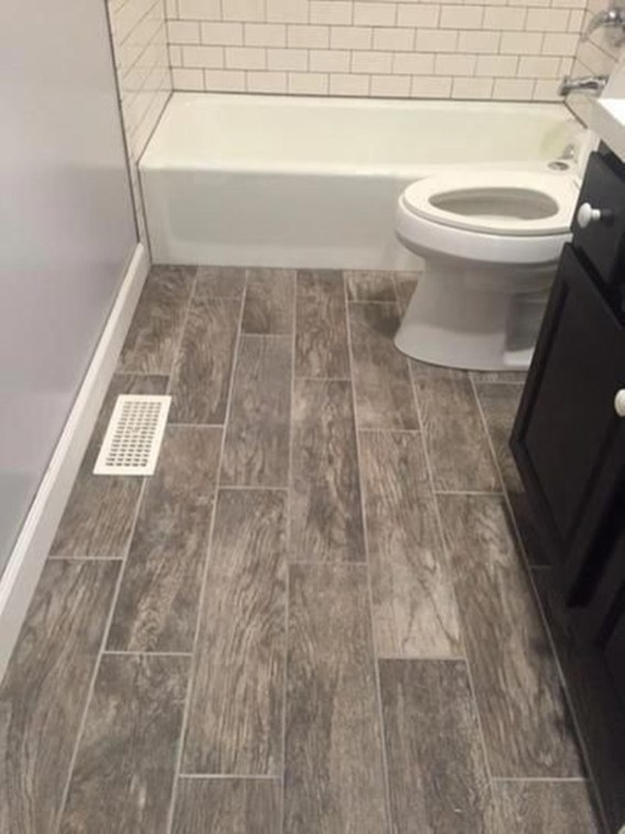 Fancy Wood Bathroom Floor Design Ideas That Will Enhance The Beautiful 37