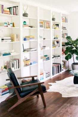 Interesting Living Rooms Design Ideas With Shelving Storage Units 17