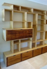 Interesting Living Rooms Design Ideas With Shelving Storage Units 30