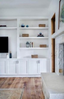 Interesting Living Rooms Design Ideas With Shelving Storage Units 31