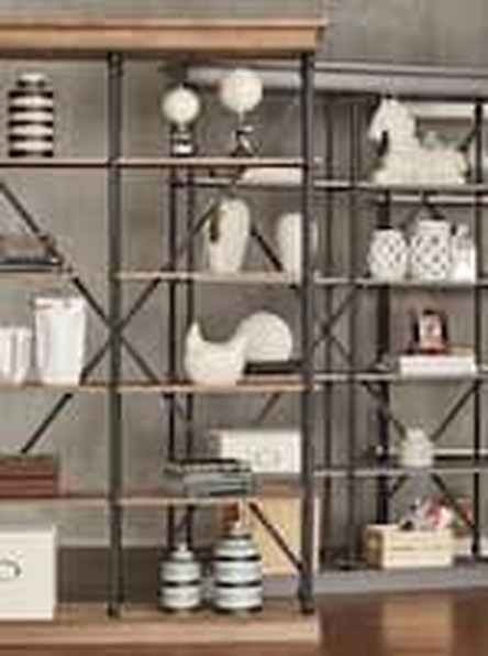 Interesting Living Rooms Design Ideas With Shelving Storage Units 33