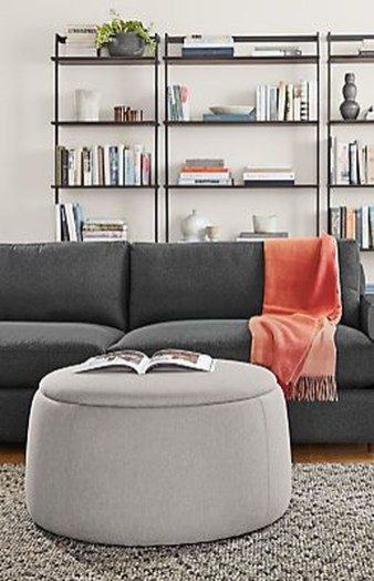 Interesting Living Rooms Design Ideas With Shelving Storage Units 44