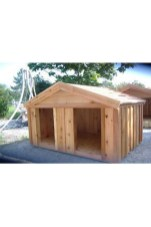 Interesting Outdoor Dog Houses Design Ideas For Pet Lovers 08