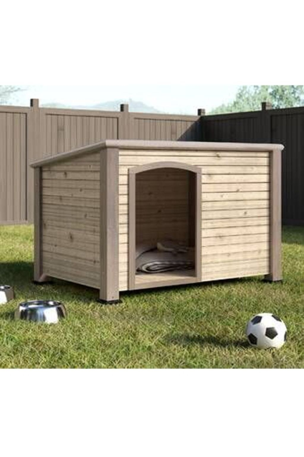 Interesting Outdoor Dog Houses Design Ideas For Pet Lovers 14