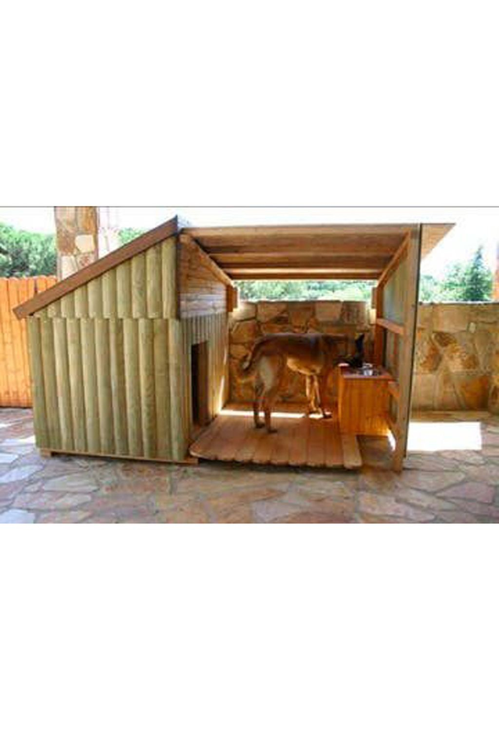 Interesting Outdoor Dog Houses Design Ideas For Pet Lovers 35