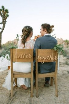 Magnificient Outdoor Wedding Chairs Ideas That Suitable For Couple 23