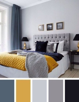 Marvelous Bedroom Color Design Ideas That Will Inspire You 34