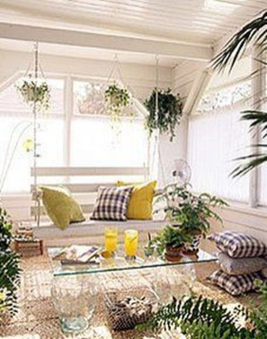 Perfect White Sunroom Design Ideas That Look So Awesome 06