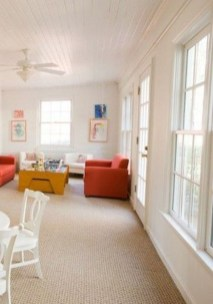 Perfect White Sunroom Design Ideas That Look So Awesome 19